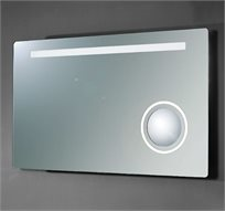 מראה עם תאורת לד לאמבטיה דגם אליאור 80 ס''מ