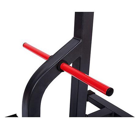 סטנד משקולות נעילה כפולה לבטיחות מלאה Marbo sport - תמונה 4