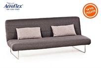 לזמן מוגבל! ספה נפתחת למיטת אירוח דגם ANDREA מבית Aeroflex + שתי כריות נוי מתנה!