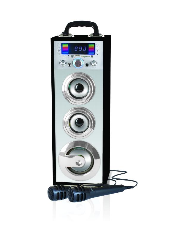 מערכת קריוקי ניידת Pure Acoustics עם Bluetooth דגם MCP-25