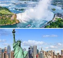 טיול מאורגן ל-8 ימים/6 לילות בניו יורק ומפלי הניאגרה החל מכ-$1750*