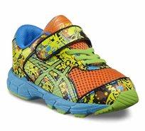 נעלי Asics לתינוקות וילדים דגם Noosa Tri 11 TS רכות וגמישות, בעלות סקוצ' וגומי לנעילה נוחה יוניסקס
