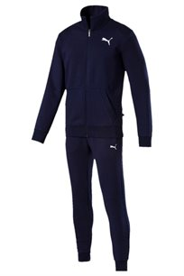 חליפת ספורט לגברים PUMA Style Good Sweat Suit Cl בצבע כחול