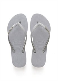 HAVAIANAS נשים // SLIM GLITTER STEEL GREY