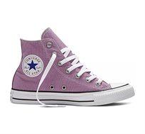 נעלי סניקרס גבוהות לנשים - סגול פודרה