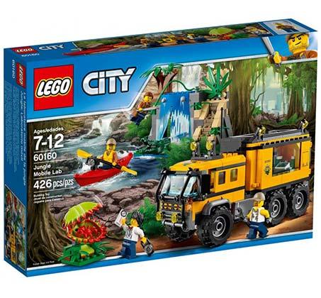 יחידת הג'ונגל - משחק לילדים LEGO