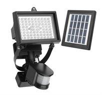 תאורת פרוז'קטור סולארית חזקה ללא צורך בחיבור לחשמל או בסוללות