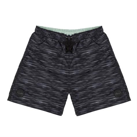 Diadora גברים // מכנס ים פוליאסטר-שחור