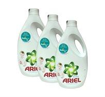 מארז 3 בקבוקי נוזל כביסה Ariel Baby אריאל בייבי
