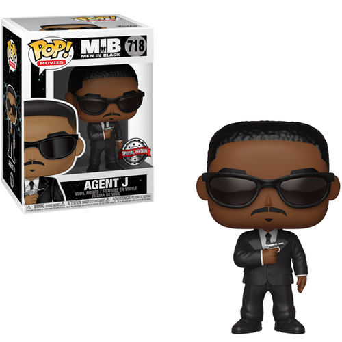 Funko Pop - Agent J Special Edition (Man In Black) 718  בובת פופ