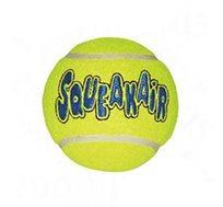 """כדור טניס קונג אייר סקויקר M לכלב, משמש למשחק ואילוף לכלב עד 15 ק""""ג"""