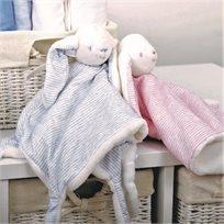 שמיכי ארנב קלאסי - צבעי פסטל