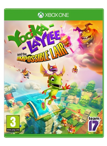Yooka-Laylee And The Impossible Lair Xbox One אירופאי! מכירה מוקדמת!