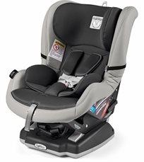 כסא בטיחות Convertible בצבע ליקריץ שחור משולב עור Ice