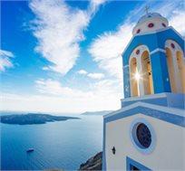 קיץ יווני! טיסה הלוך ושוב לסנטוריני ל-3-4 לילות במלון 5 כוכבים NINE MUSES החל מכ-$579* לאדם!