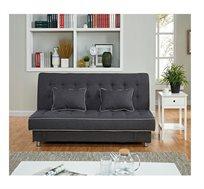 ספה איכותית דגם קסאנה בעלת מנגנון מתכת המאפשר פתיחה למיטה מרווחת תוצרת ויטוריו דיוואני