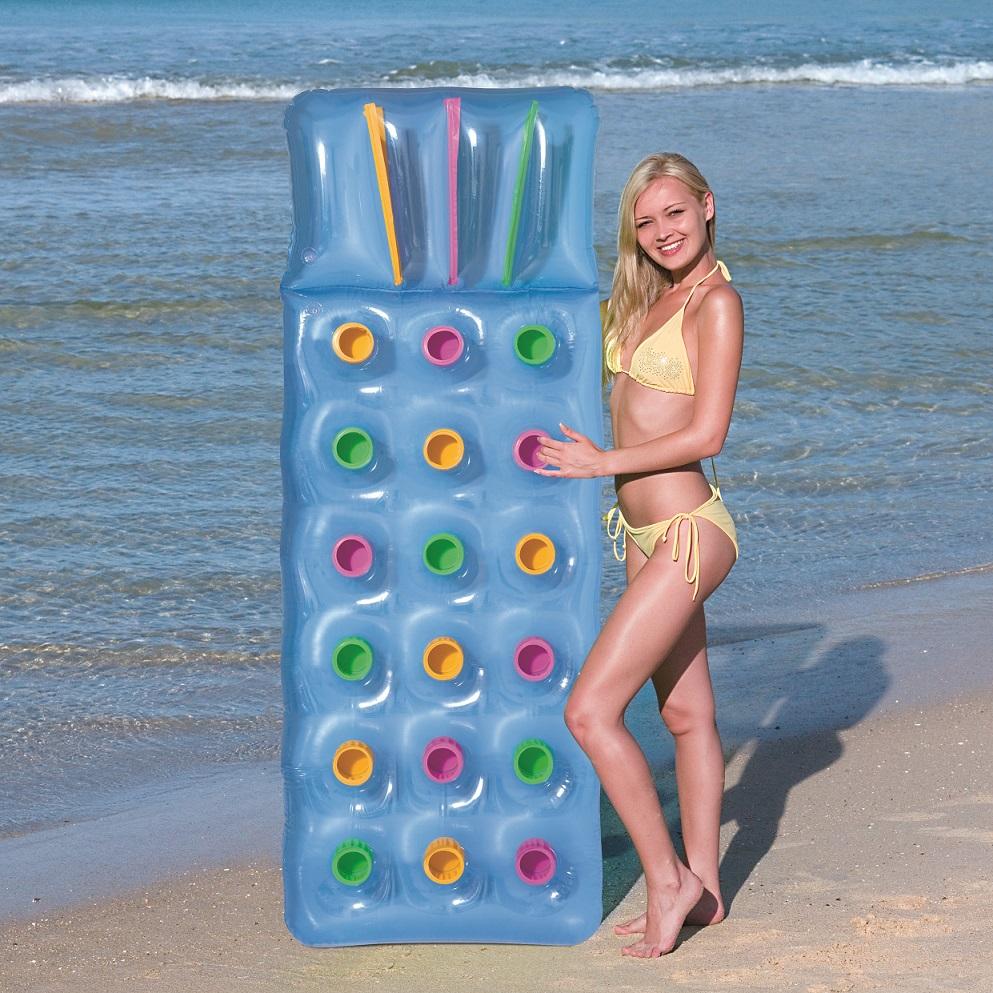 מזרן ים מתנפח עם תאים לכוסות 188X71 ס