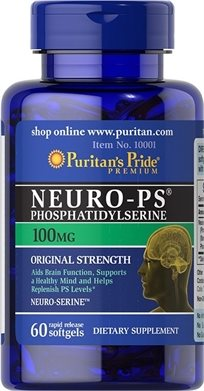 Puritan's Neuro-Ps (Phosphatidylserine) 100 Mg