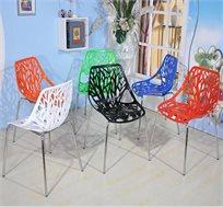 כיסא מטבח בעיצוב חדשני במגוון צבעים לבחירה
