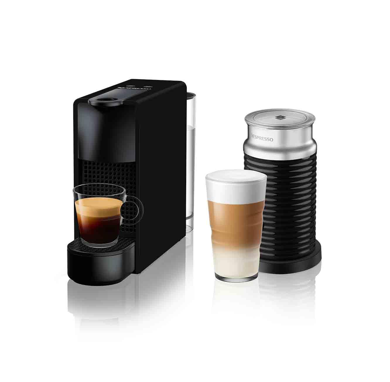 מכונת קפה Nespresso אסנזה מיני בצבע שחור מט כולל מקציף חלב ארוצ'ינו  A3NC30-IL-MB-NE (מהדורה מוגבלת)