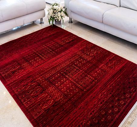 שטיח בדוגמאות אתניות אפגניות 100% סיבי היטסט במבחר דגמים  - תמונה 4
