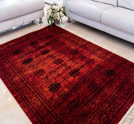 שטיח בדוגמאות אתניות אפגניות 100% סיבי היטסט במבחר דגמים  - תמונה 2