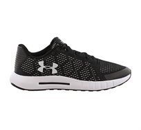 נעלי אימון Under Armour Micro G Pursuit SE לגברים בצבע שחור/לבן