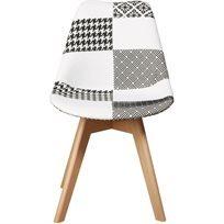 כיסא לפינת אוכל Patchwork Merry - צבעוני - משלוח חינם