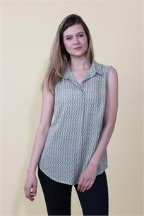חולצת אופיר מודפסת
