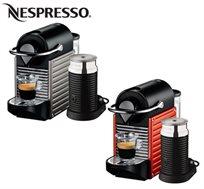 מכונת אספרסו דגם Pixie C-60 Bundl מבית Nespresso - משלוח חינם!