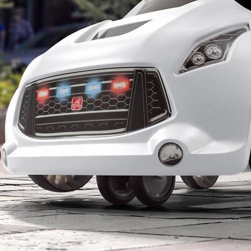 מכונית משטרה טורבו קופה משולב בימבה דחיפה דגם 8738 - תמונה 6