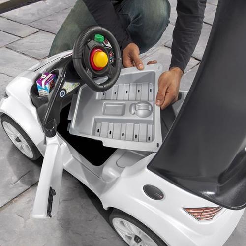 מכונית משטרה טורבו קופה משולב בימבה דחיפה דגם 8738 - תמונה 3