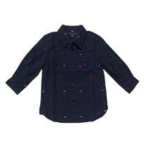 חולצת Tommy Hilfiger לילדים מכופתרת (מידות 3 חודשים- 10 שנים)