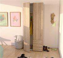 ארון 2 דלתות עם מגירות HOME DECOR תוצרת אירופה