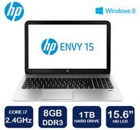 """המחיר צנח! נייד """"15.6 מבית HP, מעבד ארבע ליבות i7, זכרון 8GB, דיסק קשיח 1TB ו-WIN8.1"""