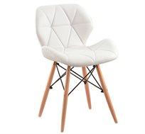 כיסא בעיצוב מודרני וייחודי מרופד בדמוי ועור דגם DOVER לבית ולמשרד Westin Stock