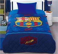 """שמיכה קייצית של קבוצת הכדורגל המצליחה """"ברצלונה"""" עשויה בד מיקרופייבר נעימה ורכה להפליא"""