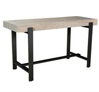 שולחן בר בעיצוב מודרני המשלב עץ ומתכת דגם איזדדורה