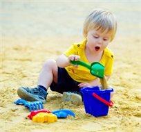 סט כלי משחק בחול לים, לבריכה ולחצר