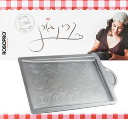 """מגש שטוח לעוגיות בגודל 33X23X3 ס""""מ"""