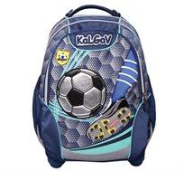 תיק אורטופדי לילדים X BAG דגם כדורגל + בקבוק שתייה מתנה