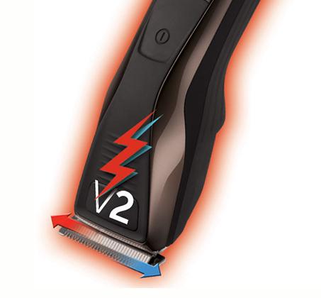מכונת תספורת Pro Power V2 Plus Remington דגם HC5400T עם מנוע בעל עוצמה כפולה לחיתוך - מתצוגה - תמונה 2