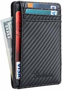 ארנק למבו קרבון לכרטיסים Lambo Slim Carbon Wallet Rfid