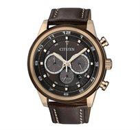 """שעון יד לגבר דגם CI-CA403701W מבית CITIZEN יפן ECO DRIVE נטען ע""""י האור ללא סוללה עשוי פלדת אל חלד"""