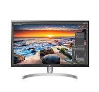 """מסך מחשב 27"""" LG דגם 27UK850-W ברזולוציית 4K UHD כולל כניסת USB Type-C תומך HDR10"""