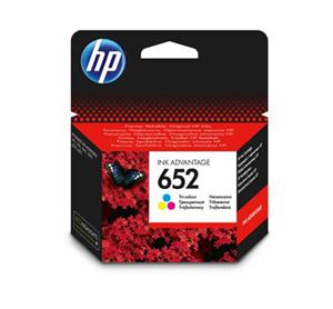 ראש דיו מקורי HP 652 צבע צבעוני