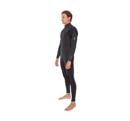 חליפת גלישה לגברים BODY GLOVE PRIME Slant 4/3 mm  - משלוח חינם  - תמונה 3