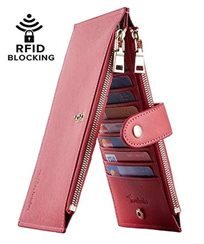 Lambo Wallet Multi Card Case Reddish