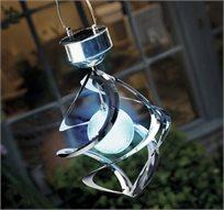 מוסיפים קסם לגינה! פעמון רוח סולארי מחליף צבעים בעל גימור מרהיב במיוחד, פשוט מושלם לכל גינה