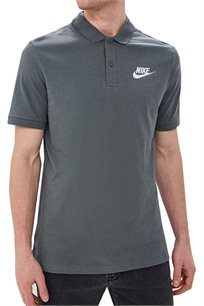 חולצת פולו Nike לגברים בצבע אפור
